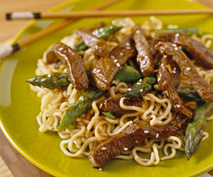 Recipe of the Day: Sesame Beef and Asparagus Stir-Fry | Recipes ...