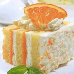 orange dreamscicle cake
