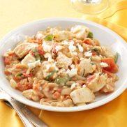Chicken in Tomato-Basil Cream